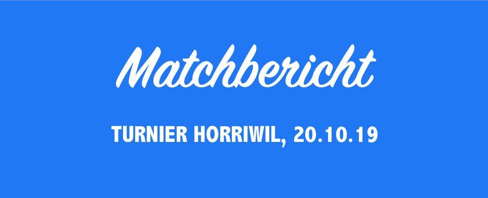 Korbball Damen: Turnier Horriwil, U20 Teams konnten viel Spielpraxis sammeln